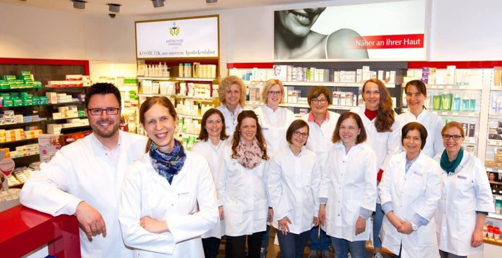 Team Krönig'sche Apotheke